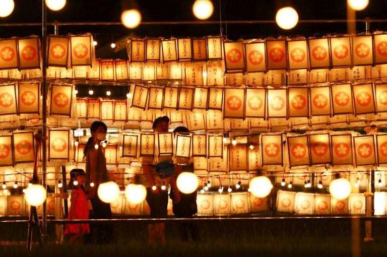 Ancestal Worship Festival in Japan