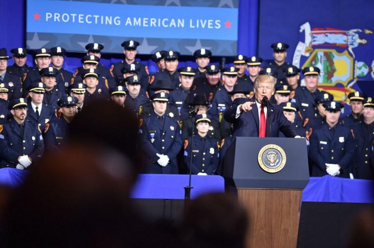 US - POLITICS - TRUMP - crime - gang